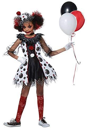 Creepy Clown Girl Girls Costume