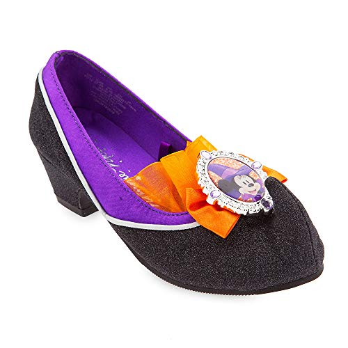 Disney Minnie Mouse Witch Costume Shoes for Kids Size 7/8 TODLR Multi