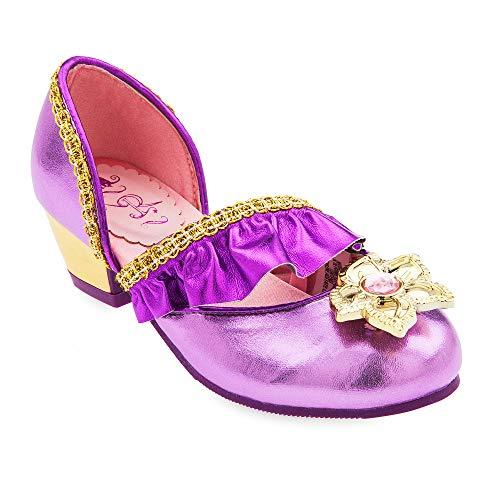 Disney Rapunzel Costume Shoes for Kids – Tangled Size 9/10 YTH Multi