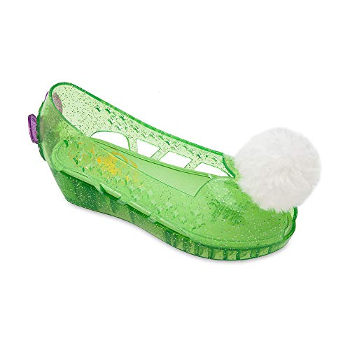 Disney Tinker Bell Glow in The Dark Shoes for Kids Size 11/12 YTH Green