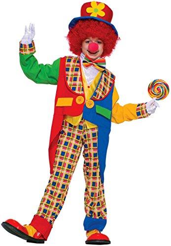 Forum Novelties Clown On The Town Costume, Small