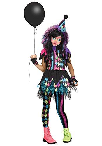 Fun World Girls Twisted Circus Clown Costume Large