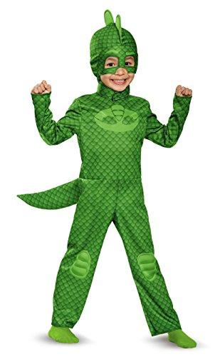 Gekko Classic Toddler PJ Masks Costume, Small/2T