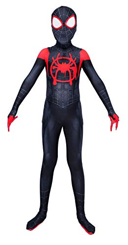 Riekinc Kids Spandex Zentai Bodysuit Superhero Halloween Cosplay Costumes Kids