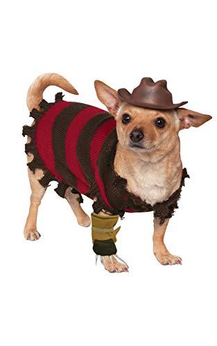 Rubie's A Nightmare on Elm Street Freddy Krueger Pet Costume, Medium